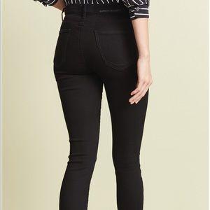 Current/Elliot Jeans High Waist Stiletto 26 BLK